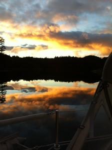 Von Donop - Hytta sunset